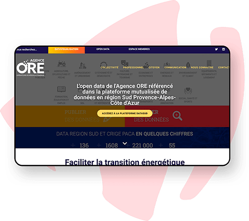 Création de site pour Grand Compte