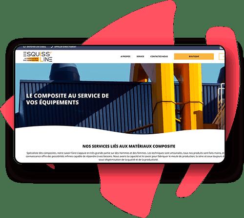 Création de site internet pour l'industrie