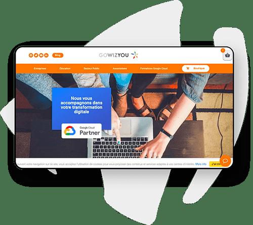 Création site partenaire Google
