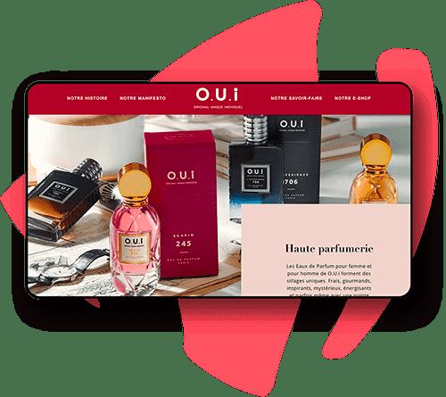 Boutique en ligne de parfums