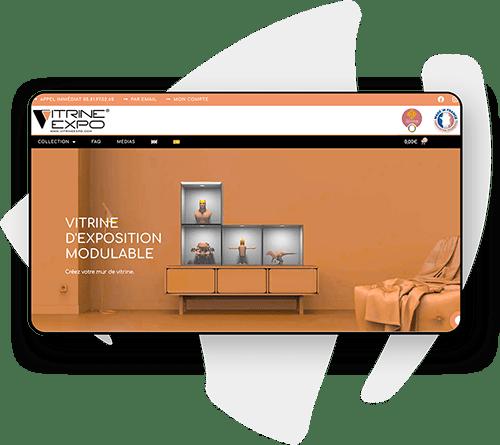 Exemple de site e-commerce multilingue